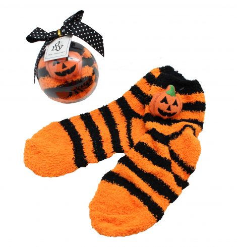 A photo of the Halloween Ornament Socks product