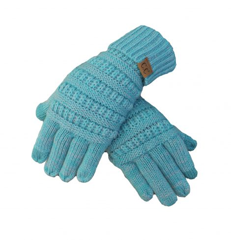 A photo of the Charming Cable Knit Gloves product