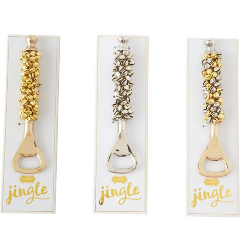 A photo of the Jingle Bell Bottle Opener product