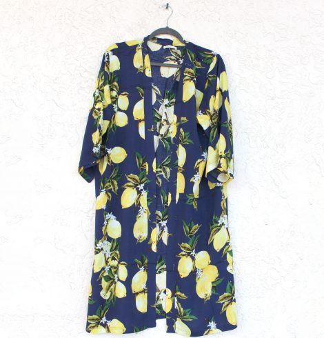 A photo of the Lemon Kimono product