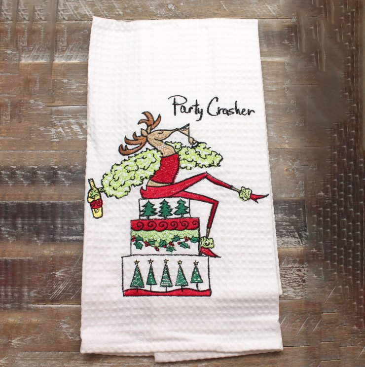 A photo of the Party Crasher Towel product