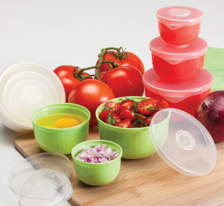A photo of the Prep & Store Bowls product