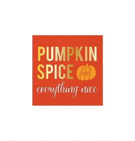 A photo of the Pumpkin Spice & Everything Nice Napkins product