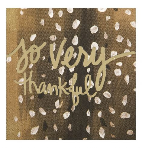 A photo of the So Very Thankful Napkins product