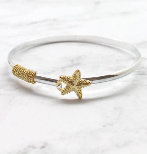A photo of the Starfish Bangle product
