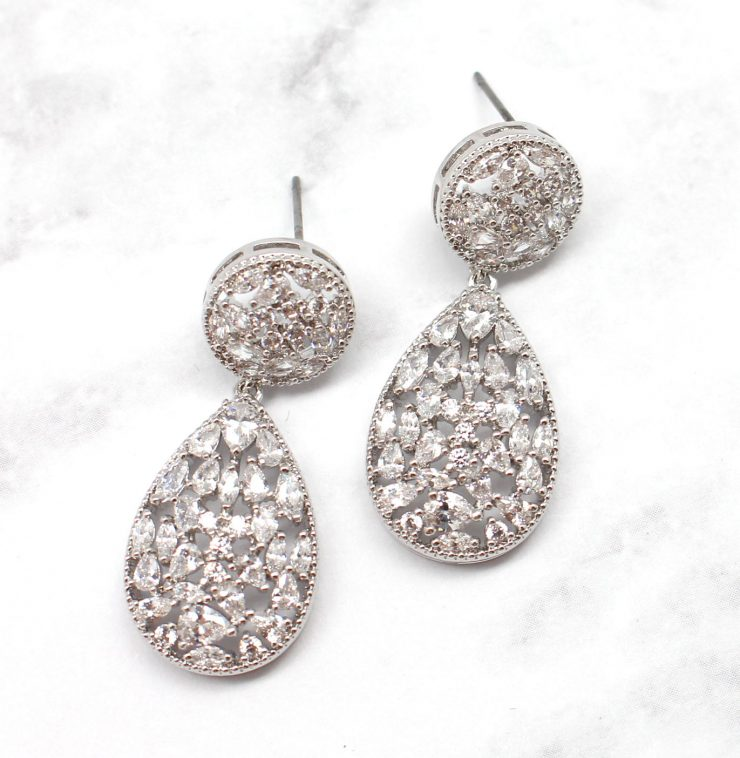 A photo of the Subtle Sparkle Earrings product
