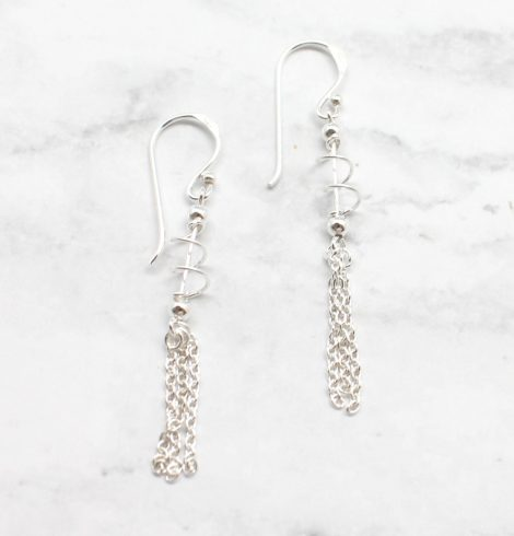 A photo of the The Hemlock Earrings product