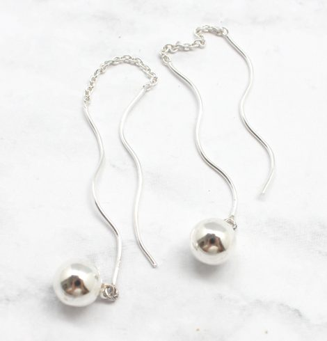 A photo of the The Hickory Earrings product