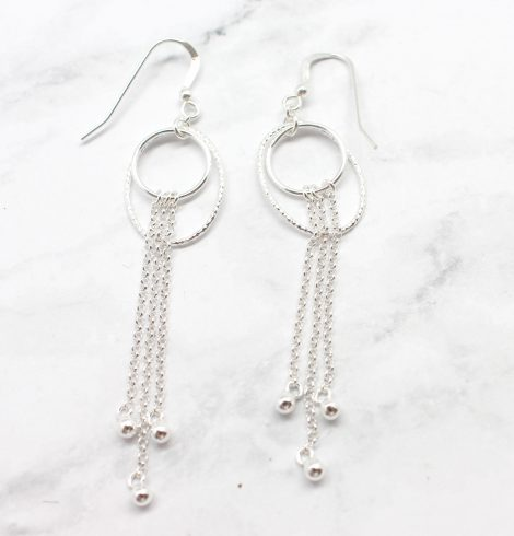 A photo of the The Oak Earrings product