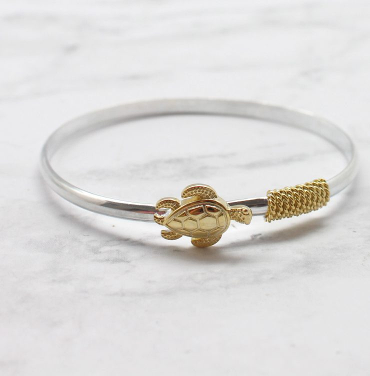 A photo of the Turtle Bangle product