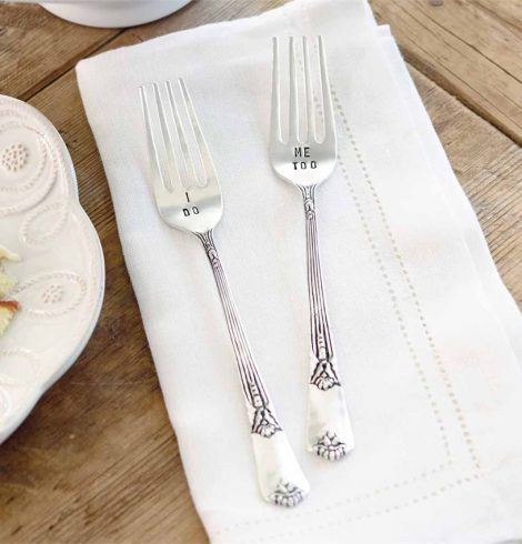 A photo of the Wedding Fork Set product