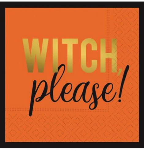 A photo of the Witch Please Napkins product