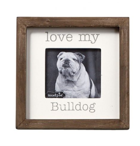 A photo of the Love My Dog Small Photo Frame product