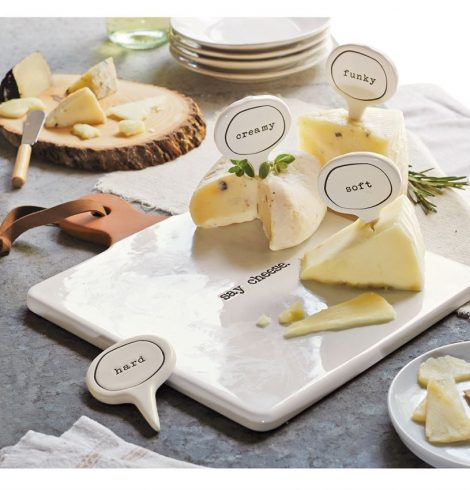 A photo of the Ceramic Cheese Marker Set product