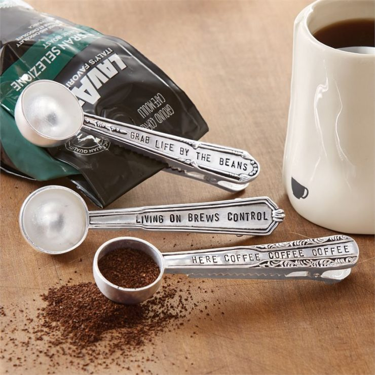 A photo of the Coffee Scoop Bag Clips product