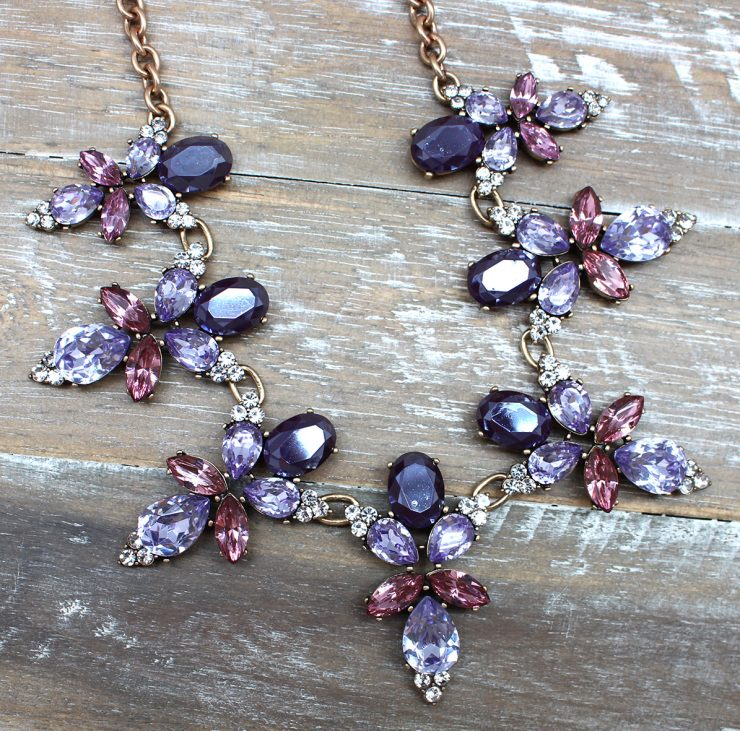 A photo of the Edgy Glam Necklace product