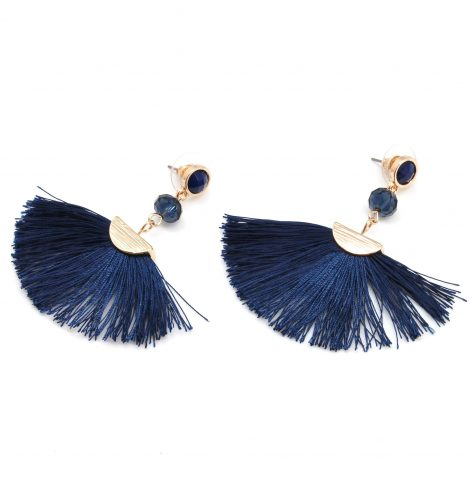 A photo of the Fanned Out Fringe Earrings product