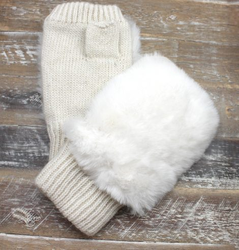 A photo of the Faux Furry Gloves product