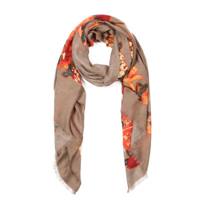 A photo of the Flower Fiesta Scarf product