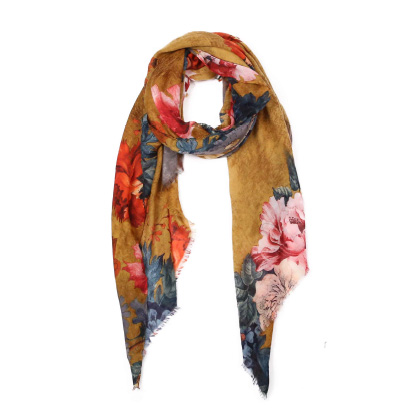 A photo of the Flower Power Scarf product