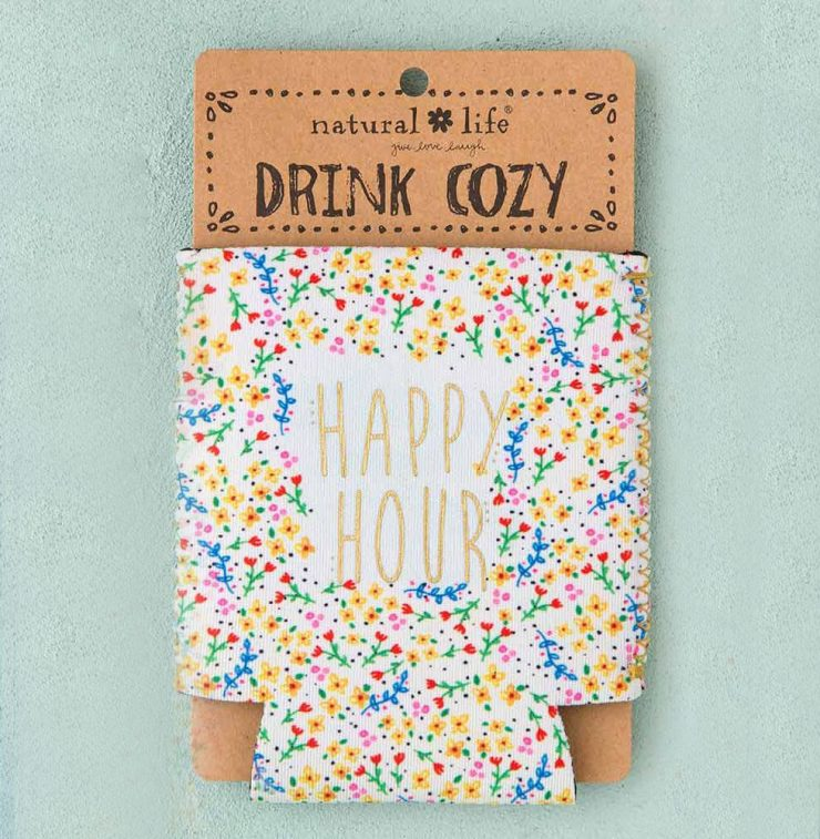 A photo of the Happy Hour Drink Cozy product
