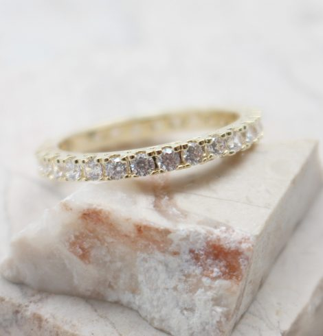 A photo of the Infinite Rhinestone Ring product