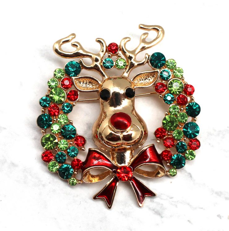 A photo of the Racing Rudolph Pin product