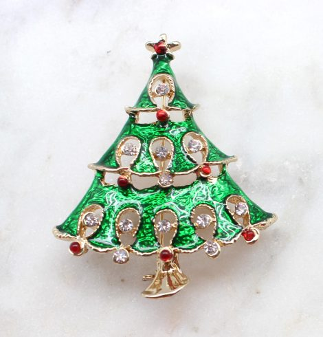 A photo of the Rockin' Around The Christmas Tree Pin product
