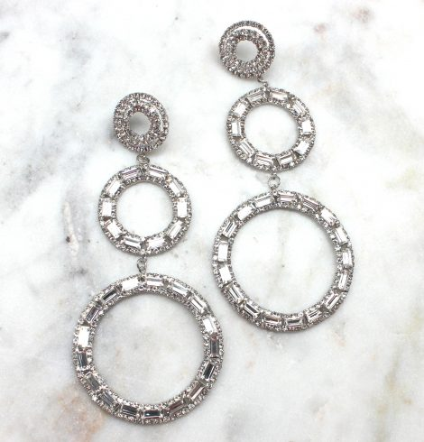 A photo of the Round About Earrings product