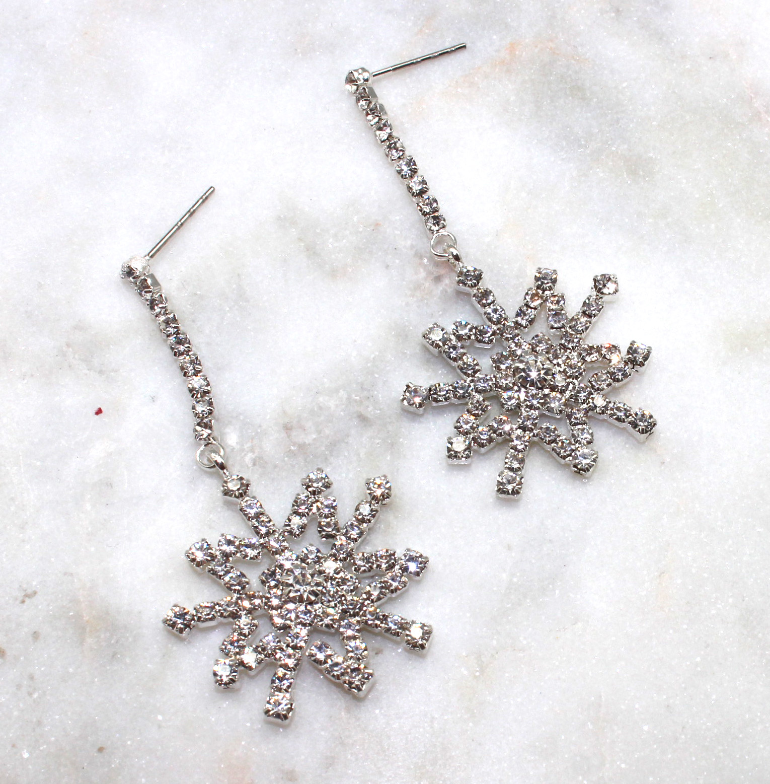 Shivering Snowflake Earrings