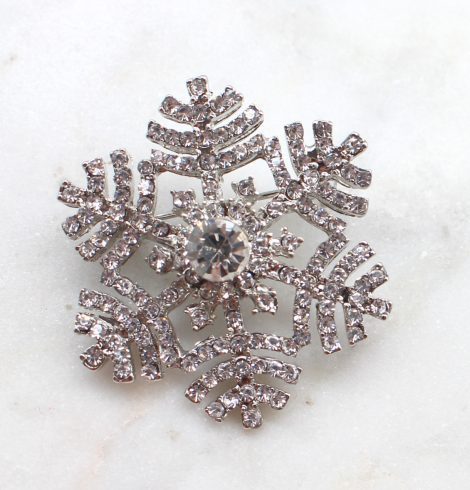 A photo of the Snowflake Hills Pin product