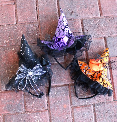 A photo of the Witch Hat Headband product