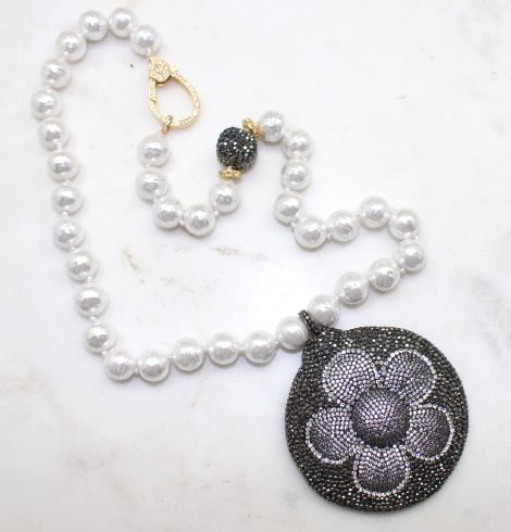A photo of the The Clara Necklace product