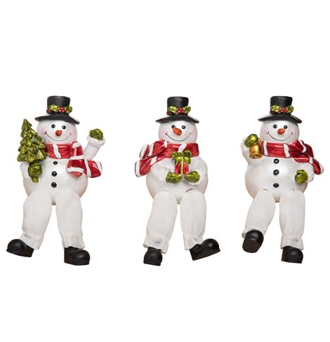 A photo of the Cheery Counter Snowmen product