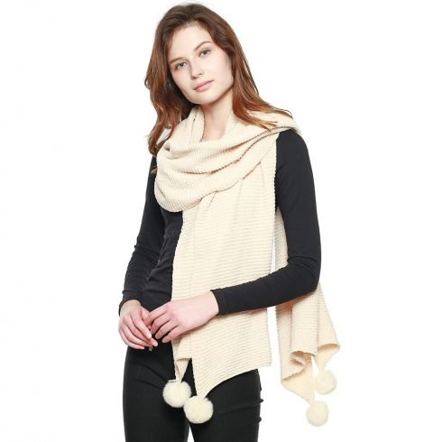 A photo of the The Esmeralda Scarf product