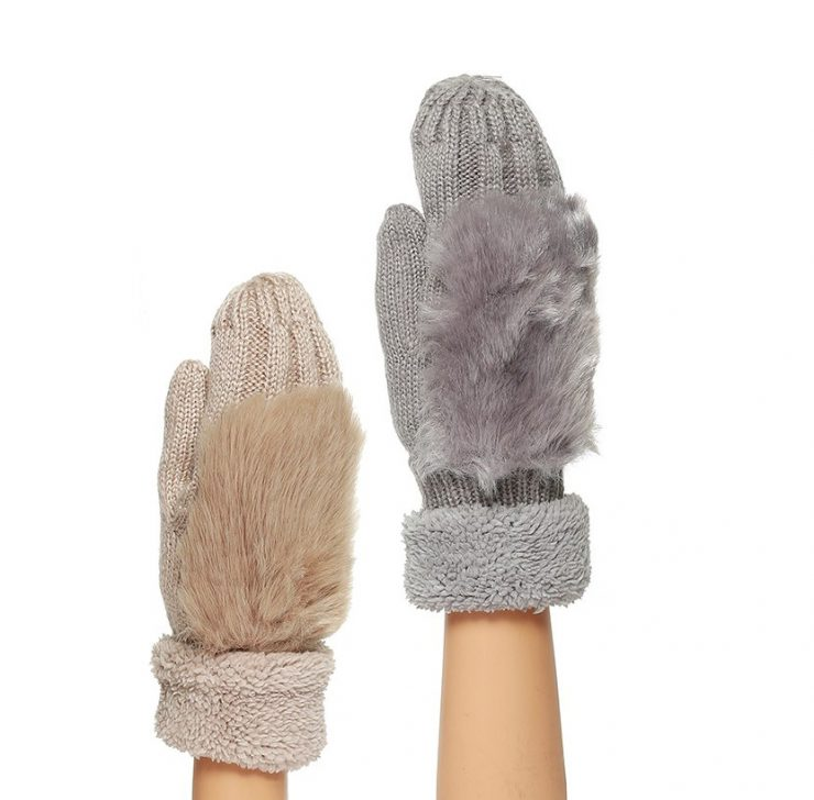 Fab Furry Gloves