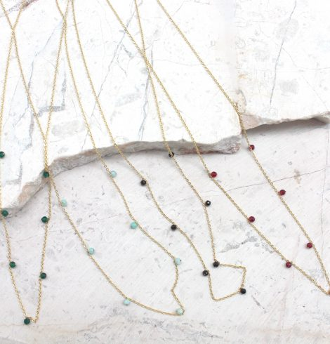 A photo of the Free Spirit Delicate Necklace product