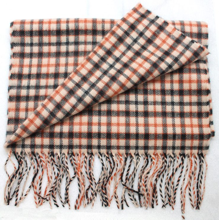 A photo of the Harvest Stripe Cashmere Feel Scarf product