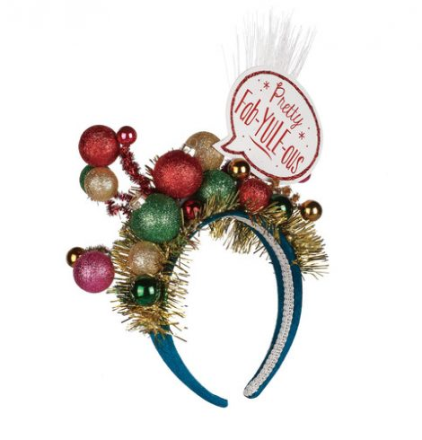 A photo of the Pretty Fab-Yule-Ous Headband product