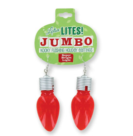 A photo of the Jumbo Light Up Earrings product