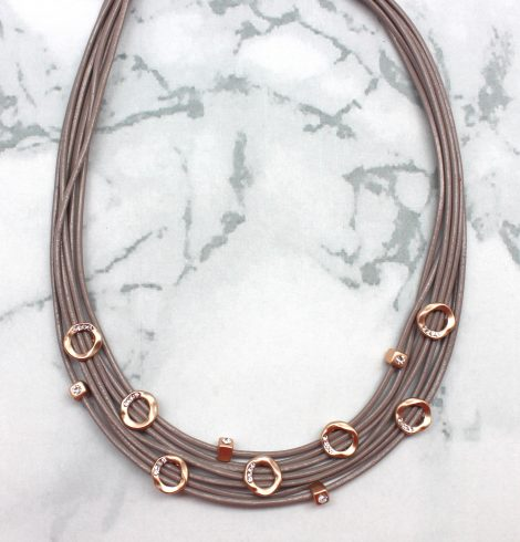 A photo of the Layer Love Necklace product