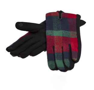A photo of the Plaid Pop Gloves product