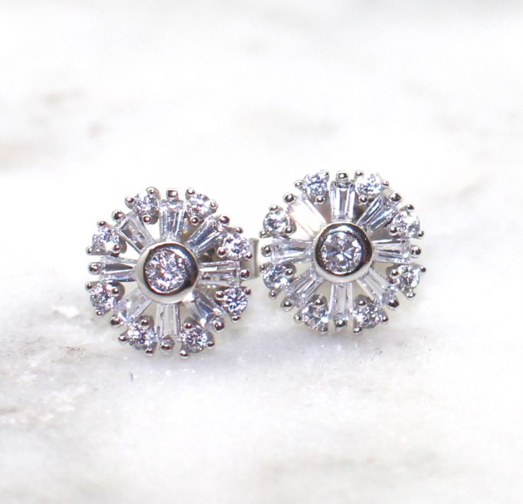 A photo of the Pinwheel Earrings product