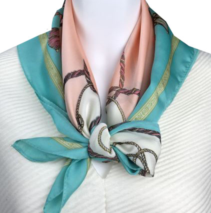 A photo of the Tassel Square Scarf product
