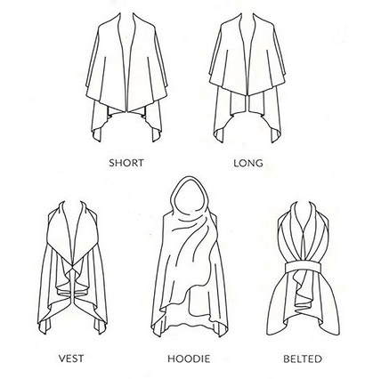 A photo of the Basic Shawl Vest product