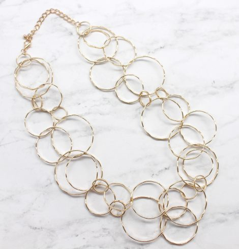 A photo of the Bubble Link Necklace product