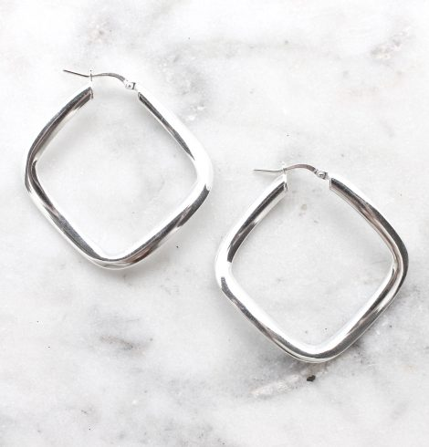 A photo of the Genoa Hoop Earrings product