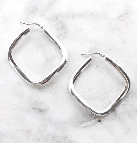 A photo of the Genoa Hoop Earrings product