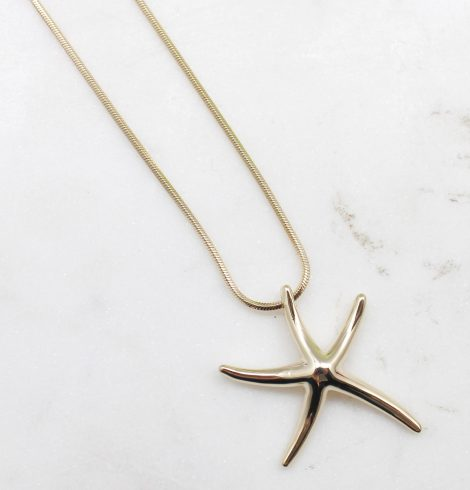 A photo of the Sandy Starfish Necklace product