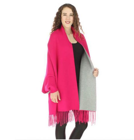 A photo of the Sweater Shawl Scarf product